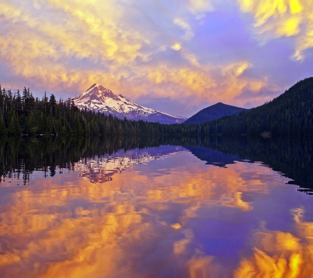 Mt hood camping photo gallery lost lake oregon for The hood river