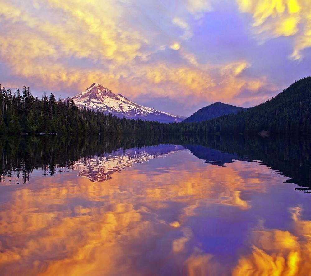 Mt Hood Camping Photo Gallery Lost Lake Oregon