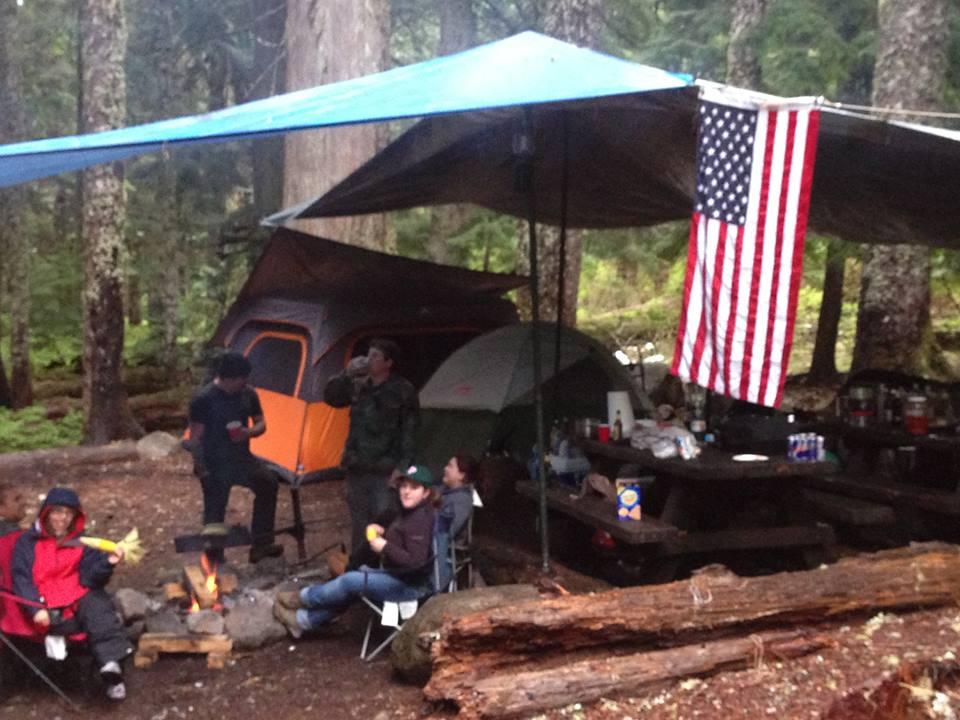 Mt Hood Camping at Lost Lake Oregon